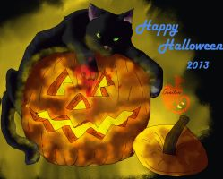 hollyleaf-Halloween 2013 by danituco
