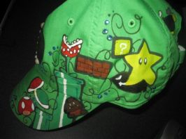 Luigi Hat different angle by SugiAi