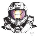 Master Chief - Halo 4 - in Pen by Macca-Chief