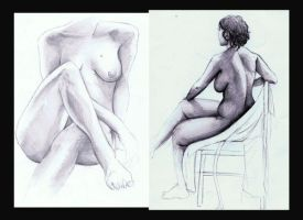Nude Study by RebekahSlusher