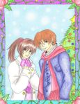 Steve And Claire Winter Time by DarkAngel0267