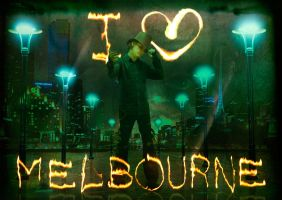 I love melbourne by beanarts