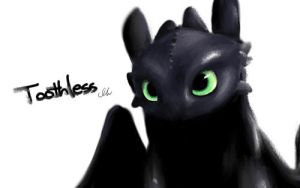 Toothless by hyunhon