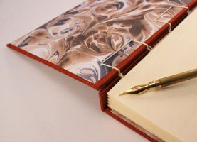 Handmade Journal Stormy Sky by GatzBcn