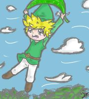 Toon Link by mintgold-sky