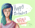 Happy Birthday Nan by star-socks