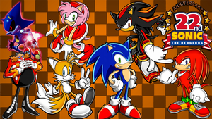 Sonic Collage Wallpaper by JanetAteHer