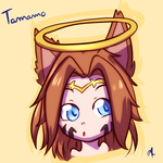 Tamamo - Oc icon request by indorak