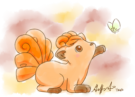 Vulpix by Pluffers