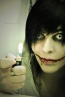 [cosplay] Jeff the Killer (creepypasta) by Sarcanide