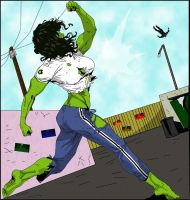 She-Hulk 03 by hotrod5