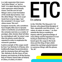 Et Cetera simple article by agaaachr