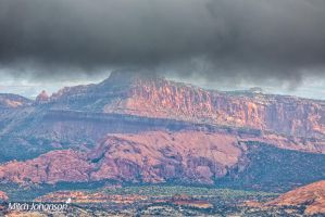 Hanging on Red Rock by mjohanson