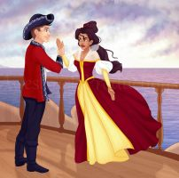 The Pirate's Princess by madam-marla