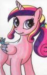Teenage Cadance in copic markers by allanah
