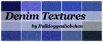 Denim Texture Pack by Bulldoggenliebchen