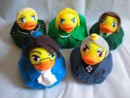 Germany, Austria, Lithuania, Poland, Prussia Ducks by Oriana-X-Myst