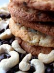 Chocolate Chip + Cashew Nut Cookies by claremanson