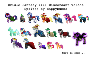 Collection of My Little Pony Sprites (Growing) by Happybunns