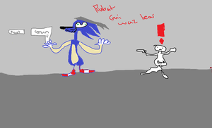 Medl Ger Sanic: Stelth is da nu fast by Sniperof2fort
