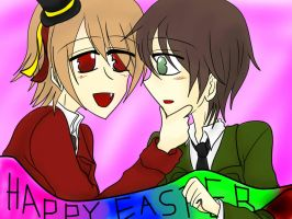 Happy Easter by chibi-nao15