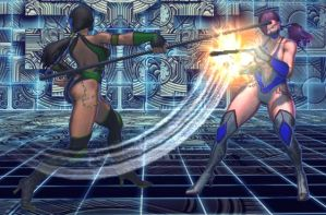 SFxT Mod - Poison: Jade Cosplay (Long Staff) by Segadordelinks