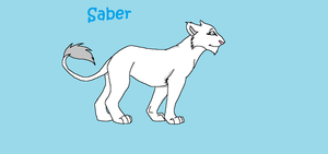 Saber, the white lioness. by HonchoFreddy