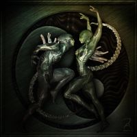 Alien Dance by RawArt3d
