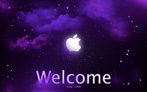 Apple Welcome by Thvg