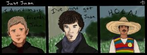 Sherlock BBC: Just Juan by lovehurts88