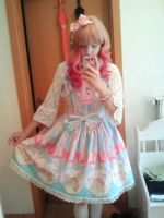 outfit of the day by sawarineko