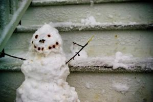happy snowman by kwant