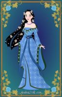 Disney Heroine: Water Element Goddess by moonprincess22