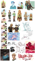 Dragon Age DoodleDump 24072014 by Reiki-kun