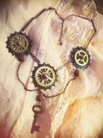 Clockpunk necklace 4 by Verope