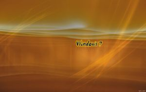 EgFox Windows 7 orange HD by Eg-Art