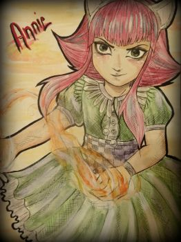 Annie by TheConflagrationArt