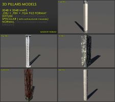 Free Pillars 02 by Nobiax