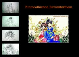 Step by step Romantic 2 by Rinmeothichca