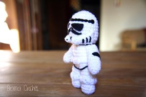 Stormtrooper - Star Wars Amigurumi doll by BramaCrochet