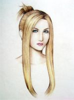 Quistis Bust - FF8 by LidART