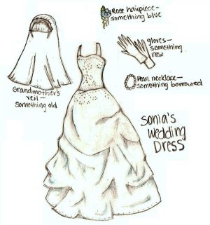 How to Draw Wedding Dresses