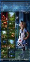 Wonderland backgrounds 3 by moonchild-ljilja