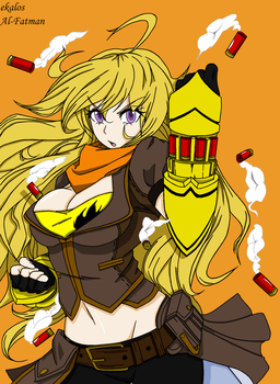 RWBY - Yang Victorious by Al-Fatman