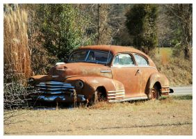 Old Rusty Chevy by TheMan268