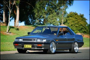 R31 Nissan Skyline GT by Clinton-Hatfield