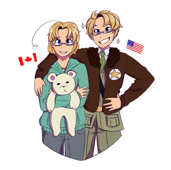 The North America Brothers by AnonymusAlias