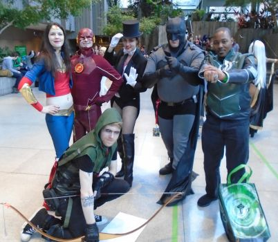 Assembeling the League at ECCC 2017 by Lockheart23
