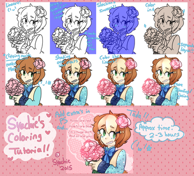 Syachie's Coloring Tutorial! by Tackytician