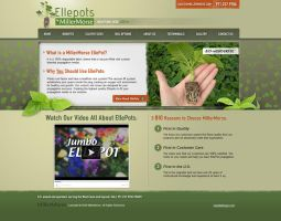 Ellepots Green Website by Cameron-Schuyler